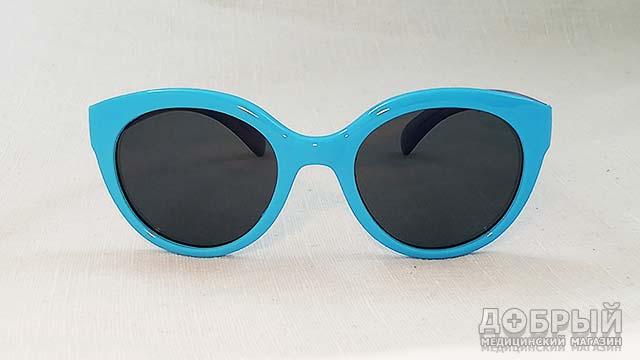 бирюзовые детские очки от солнца