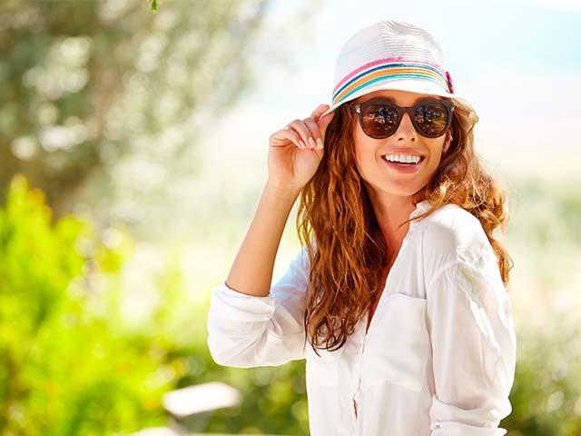 Купить женские солнцезащитные очки