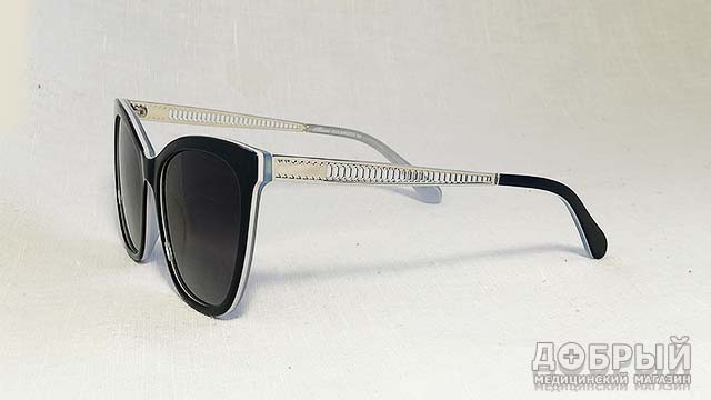 солнцезащитные очки кошечки в пластиковой оправе
