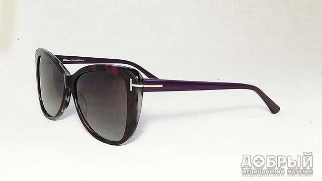 солнцезащитные очки лисички в пластиковой оправе