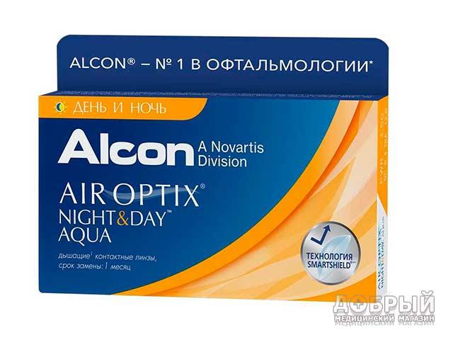 Купить линзы Air Optix день ночь в Минске