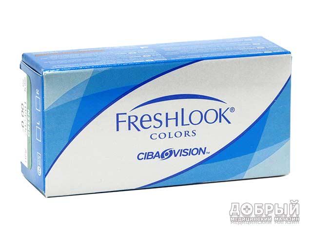 Купить цветные линзы Freshlook в Гомеле