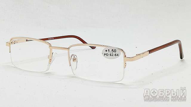 Очки для чтения с пластиковой линзой