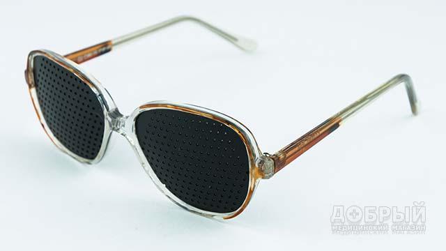 Очки-тренажёры с дырочками