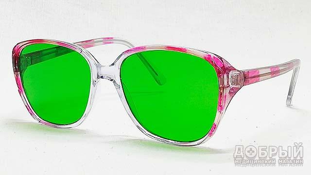 Специальные очки при глаукоме
