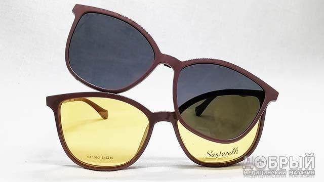 Женские очки с клипами недорого