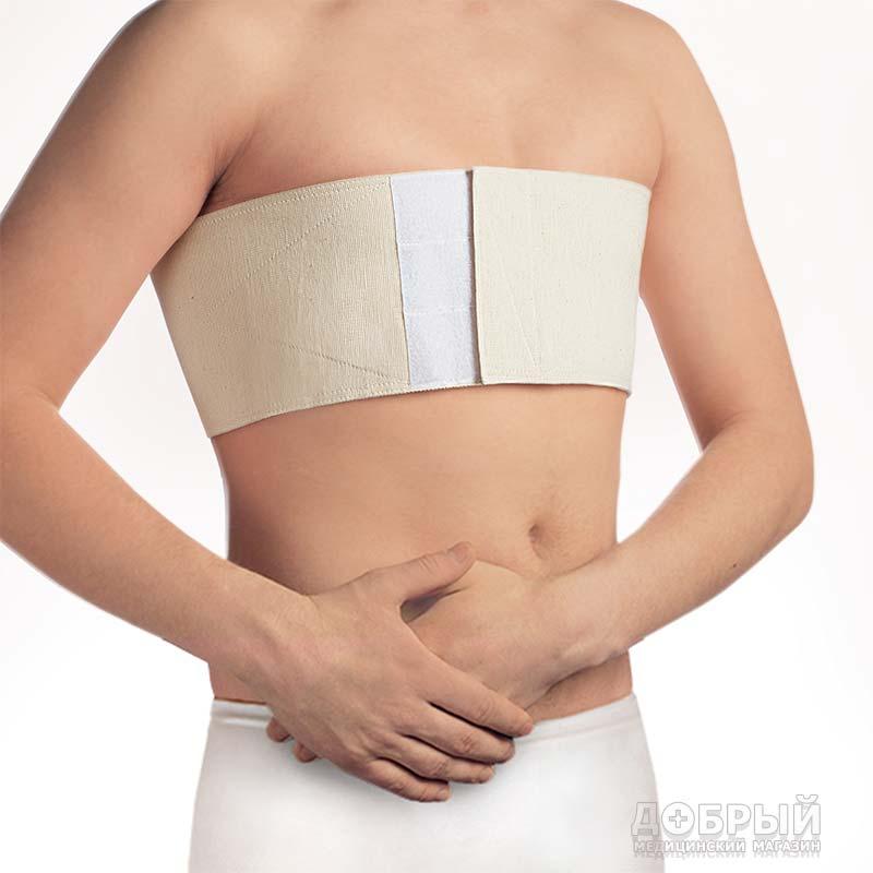 Бандаж фиксирующий по линии груди Польза