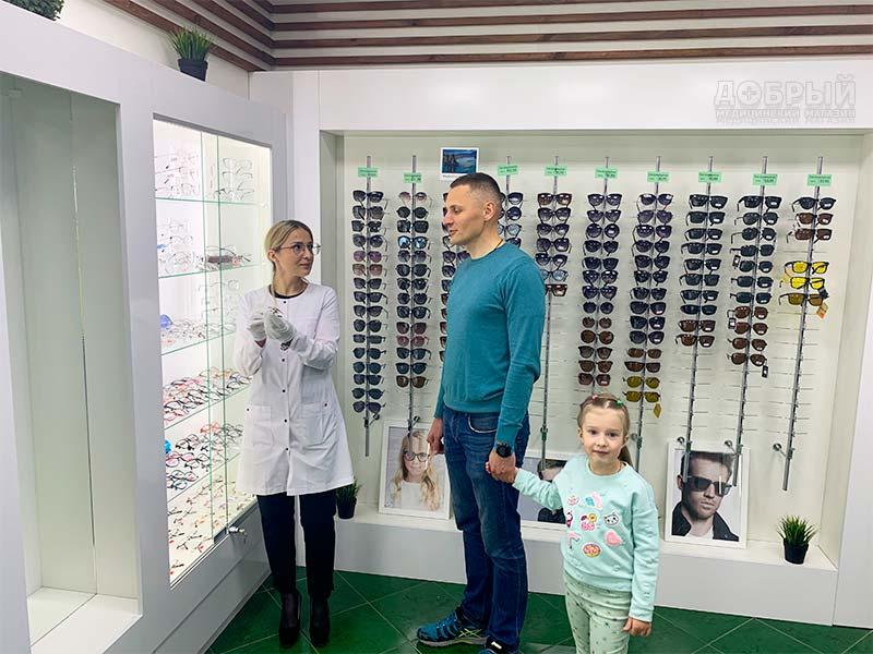 Подбор очков и контактных линз в Гомеле